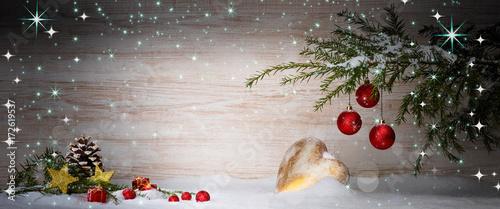 Weihnachtlicher hintergrund photo libre de droits sur la for Weihnachtlicher hintergrund