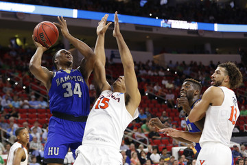 NCAA Basketball: NCAA Tournament-First Round-Hampton vs Virginia