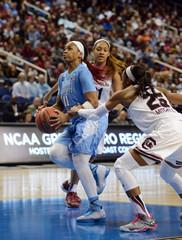 NCAA Womens Basketball: NCAA Tournament-Greensboro Regional: North Carolina v South Carolina