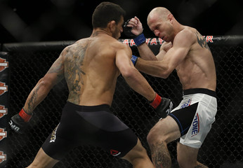 MMA: UFC Fight Night-Dos Anjos vs Cerrone