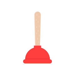 red plunger icon