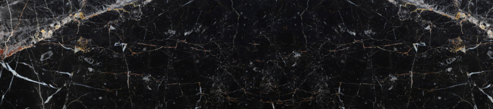 panorama texture black marble background