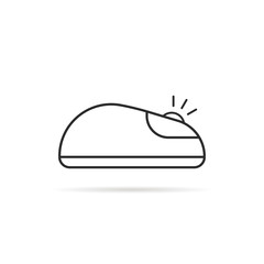 thin line click computer mouse icon