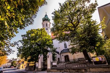 Alter Wiener Weinort Grinzing in Wien