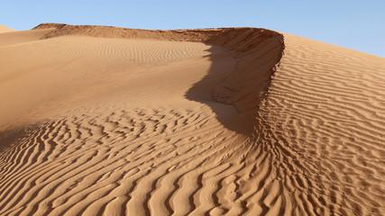 Printed kitchen splashbacks Desert Sahara dune di sabbia nel deserto in Tunisia