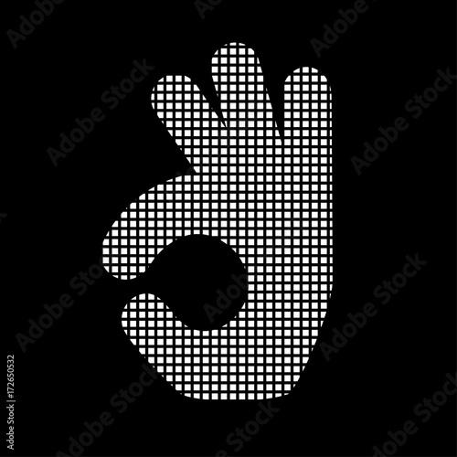 Pixel Icon - Handgeste - Zustimmung\