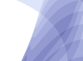 Light purple white modern abstract fractal art. Simple background illustration with layered structures and text space. Creative graphic template. Calm professional business style. For designs, layouts