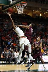 NCAA Basketball: Charleston at Miami