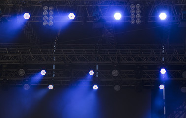 bright LED spot lights