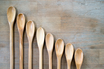 Spoons from wood