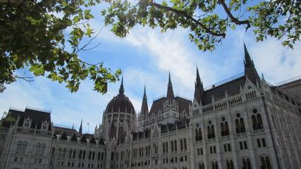 Budapest, parlement hongrois