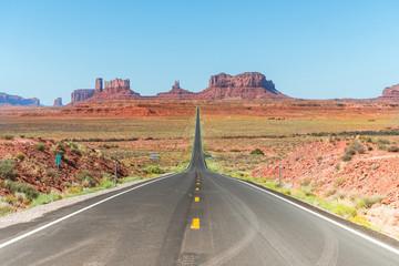 stunning monument valley road, utah