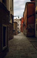 Typically/classic mediterranean street.Italy/Venice/Sestiere Dorsoduro