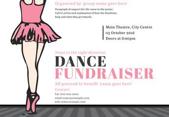 Dance Fundraiser Event Poster 1