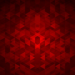Abstract background in bright red tones.