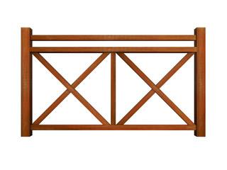 Ipe design wood railing