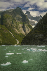 Printed kitchen splashbacks Glaciers The LeConte Glacier in Southeast Alaska. The glacier is a popular tourist destination, with operators from nearby Petersburg and Wrangell, Alaska, running excursions to its calving face.