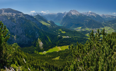 View from Eagle nest, Germany