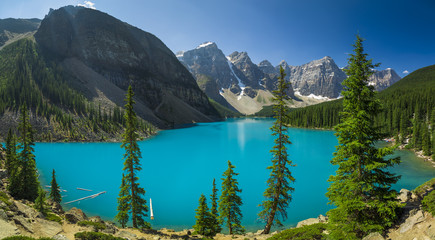 Moraine Lake British Columbia Canada Fototapete
