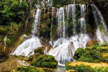 El Nicho - famous waterfalls on Cuba