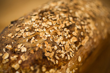 Bread Loaf Close Up