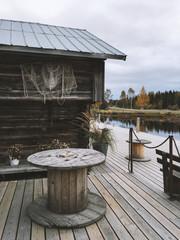 Fisherman's house patio