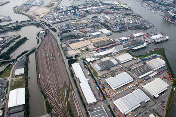 Hamburg - Panorama from above