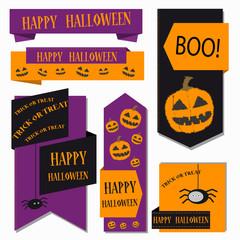 Banner Set, Happy Halloween - Trick Or Treat