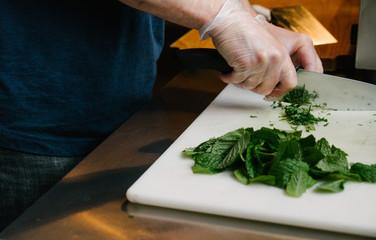 Chopping and Dicing Herbs