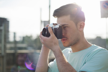 Asian cool photographer