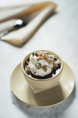 Chocolate Custard Vertical
