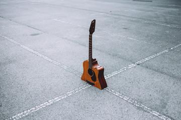 half spanish guitar