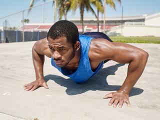 African American Runner