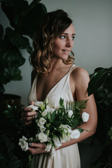 Moody botanical bridal inspiration