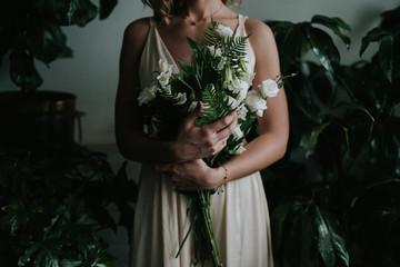 Moody botanical bridal inspiration