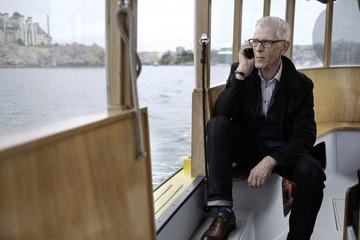 A Stylish Older Businessman