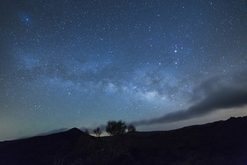 Milky Way rises over the Teide National Park