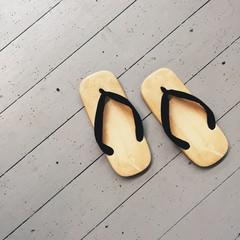 Japanese Wooden Sandals, Geta
