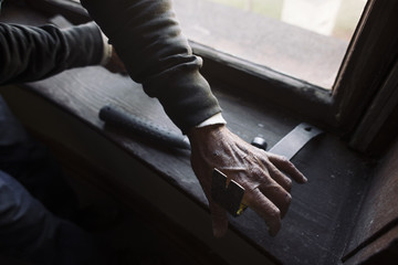 Wood Craftsman Working