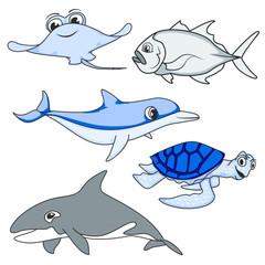 ANIMAL OCEAN SET FOR KIDS G3