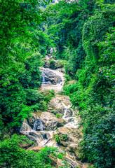 Mae Sa water falls in the forest at Mae Rim, Chiang Mai, Thailand.