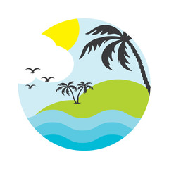 design vector summer vacation