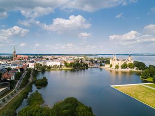 Blick Richtung Schweriner Schloss
