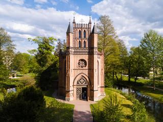 Katholische Kirche im Schlosspark Ludwigslust