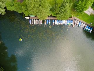 Boote auf dem Lankower See