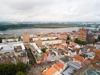 Luftbild Rostock Innenstadt