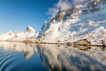 Kirkefjord norway lofoten