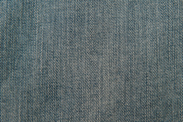 fabric texture of blue jeans