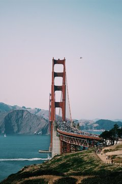 Golden Gate in the summer