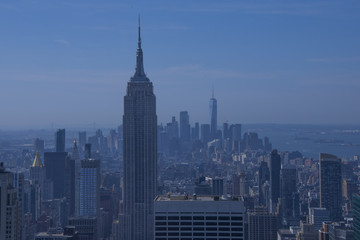 New York city from Top of the Rock